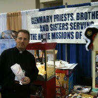 Photo taken at Glenmary Booth at NCYC by Brother David on 11/19/2011