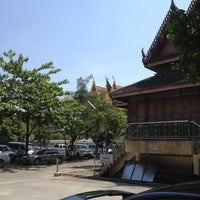 Photo taken at Wat Nakorn Pa Mak by Jo Joe P. on 4/22/2012