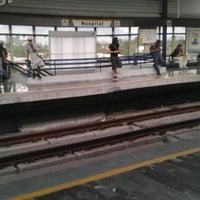 Photo taken at Metrorrey (Estación Hospital) by Felo M. on 7/2/2012