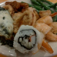 Photo taken at Hibachi Grill & Supreme Buffet by Heather W. on 5/6/2012