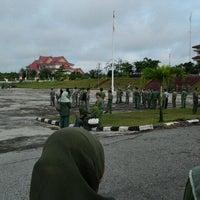 Photo taken at Lapangan Upacara Kantor Bupati by BEBEN M. on 11/14/2011