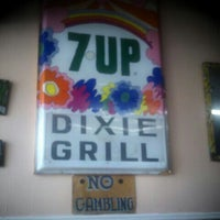 Photo taken at Dixie Grill by Don J. on 9/2/2011