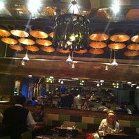 Photo taken at Bhojan Vegetarian Restaurant by Kat E. on 1/5/2012