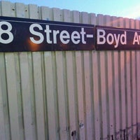 Photo taken at MTA Subway - 88th St/Boyd Ave (A) by Joey on 1/24/2012