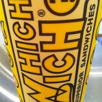 Photo taken at Which Wich? Superior Sandwiches by Wesley B. on 5/11/2011