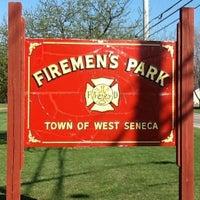 Photo taken at Volunteer Firemans Park by Kevin C. on 6/18/2012