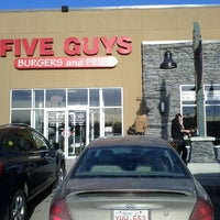 Photo taken at Five Guys by Alexander P. on 1/27/2012