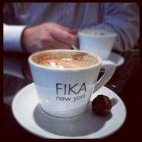 Photo taken at FIKA Espresso Bar by Suman G. on 9/11/2012
