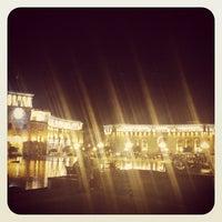 Снимок сделан в Площадь Республики пользователем Hayk M. 6/1/2012