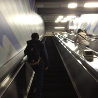 Photo taken at Oedo Line Higashi-nakano Station (E31) by Nell M. on 4/15/2012