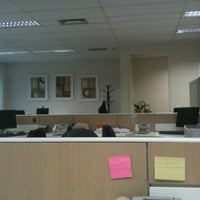 Photo taken at Banco Indusval & Partners by W.M. M. on 3/28/2012