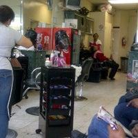Photo taken at Margarita Dominican Unisex Salon by Sheree J. on 11/25/2011