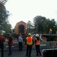 Photo taken at Chambers Covered Bridge by Matt S. on 10/6/2011