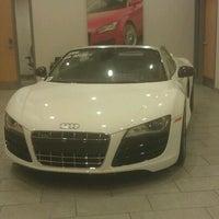 Photo taken at Audi Warwick by Fabiola B. on 10/19/2011