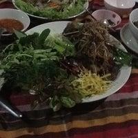 Photo taken at สวนอาหารบ้านล้อเกวียนรีสอร์ท by sukanya n. on 10/31/2011