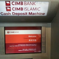 Photo taken at CIMB Bank by pyan k. on 4/1/2012