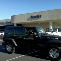 Photo taken at Swift Chrysler Jeep Dodge Ram & Kia by Angie G. on 7/22/2011
