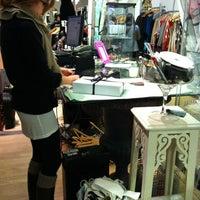 Photo taken at Fine Finds Boutique by Agnès T. on 2/25/2012