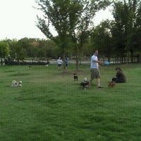Photo taken at Wagging Tail Dog Park by Leia P. on 8/24/2011