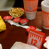 Photo taken at Whataburger by K F. on 10/23/2011