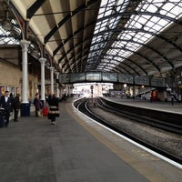 Photo taken at Newcastle Central Railway Station (NCL) by Steve M. on 12/1/2011