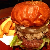 Photo taken at Burger × Burger by taq_n on 10/27/2011