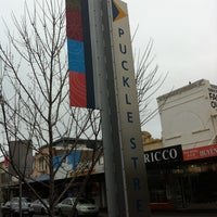 Photo taken at Puckle Street Precinct by Samantha on 6/22/2011