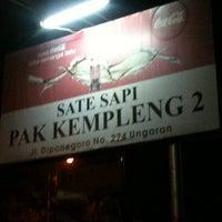 Photo taken at Sate Sapi Pak Kempleng 2 by widi y. on 6/14/2012