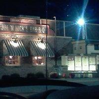 Photo taken at Jim 'N Nick's Bar-B-Q by Danni B. on 10/28/2011