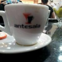 Photo taken at Antesala Café by Rafael A. on 10/12/2011