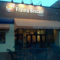 Photo taken at The Flying Biscuit by Jessica A. on 1/19/2012