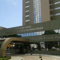 Photo taken at Tribunal de Justiça do Estado do Amazonas - TJAM by Sirio V. on 11/4/2011
