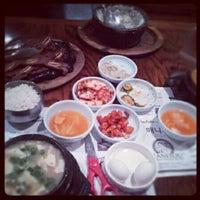 Photo taken at So Kong Dong Restaurant 소공동 순두부 by Karen B. on 5/19/2012