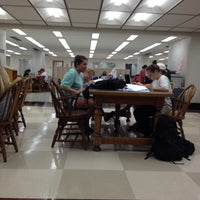 Photo taken at Amelia Gayle Gorgas Library by Blythe D. on 4/19/2012