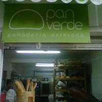 Photo taken at Pan Verde by Ruben G. on 1/14/2012