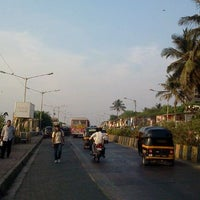 Photo taken at Carter Road Promenade by Abhilash A. on 12/18/2011