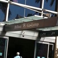 Photo taken at Hilton San Diego Gaslamp Quarter by Adolfo S. on 9/1/2012