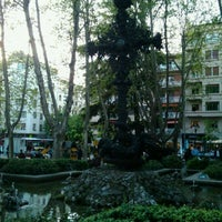 Photo taken at Plaza de la Cruz by Mikel G. on 4/18/2011