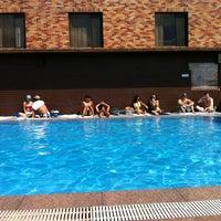 Photo taken at Hamilton Hotel Swimming Pool by Taro M. on 9/2/2012