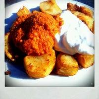 Photo taken at Delicias by En Ocasiones Veo Bares on 1/21/2012