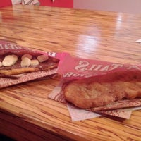 Photo taken at BeaverTails - Queues de Castor + Moozoo (Monkland) by Yusuf H. on 3/19/2012