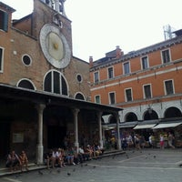 Photo taken at Mercato di Rialto by Marcos M. on 6/23/2012