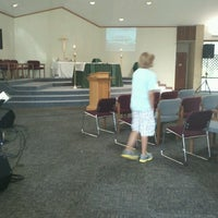 Photo taken at Church of the Messiah by Gilbert F. on 9/2/2012