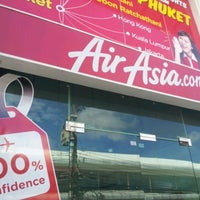 Photo taken at Air Asia Sales Office Patong by kobkarn S. on 9/17/2011