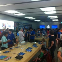 Photo taken at Apple Store by Pete M. on 11/20/2011