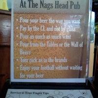 Photo taken at Nags Head Pub by za' b. on 9/15/2011