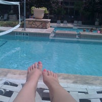 Photo taken at The Pool At The RP by Katelyn K. on 6/24/2011