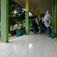 Photo taken at SMAN 5 Bengkulu by Tazkira P. on 9/8/2011
