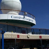 Photo taken at Carnival Legend by David C. on 9/11/2011