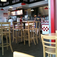 Photo taken at Five Guys by Akemi R. on 7/4/2012